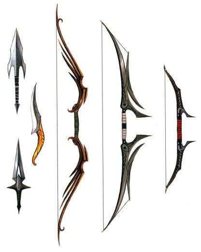 dalish_weapons